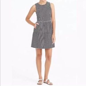 J.Crew Daybreak Striped Sleeveless Dress  Medium